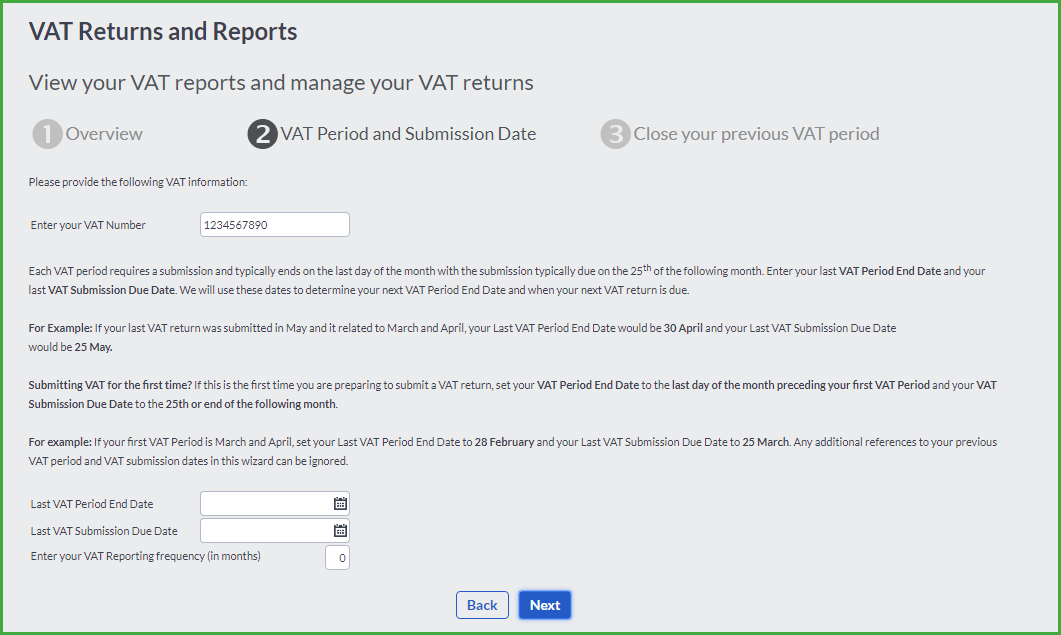 VAT Transactions
